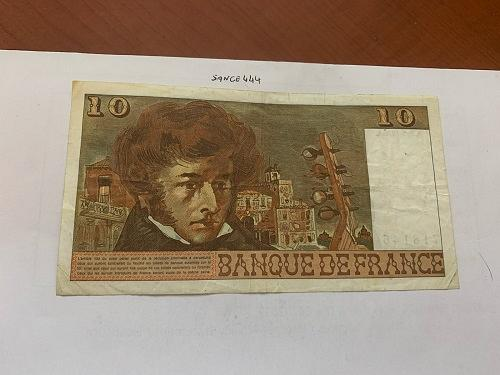 France 10 francs circulated banknote 1978 #1