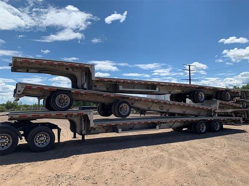 (10) 2019 MAC MFG 53 Foot Drop Deck Trailer For Sale in Duluth, Minnesota 55810