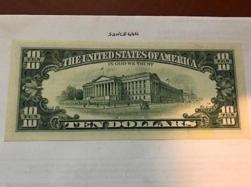 United States Hamilton $10 uncirc. banknote 1995 #1
