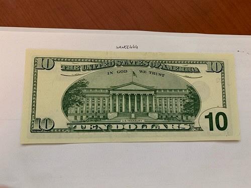 United States Hamilton $10 uncirc. STAR banknote 1999 #1