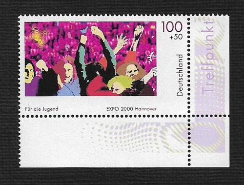 German MNH Scott #B868 Catalog Value $1.75