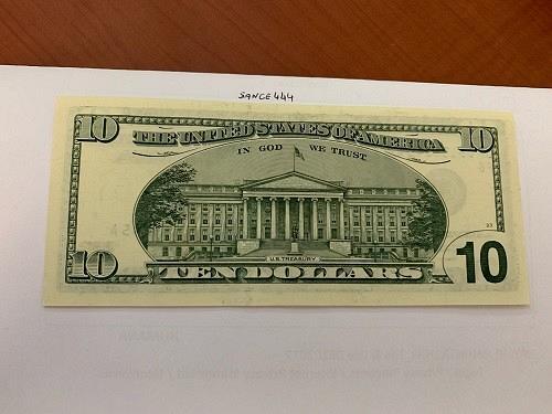 United States Hamilton $10 uncirc. banknote 2001 #3