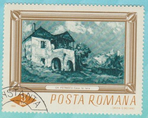 [RO1859] Romania: Sc. no. 1859 (1966) Used