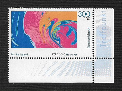 German MNH Scott #B872 Catalog Value $2.75