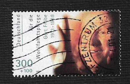 German Used Scott #B877 Catalog Value $3.75