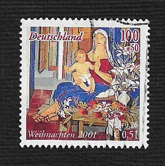 German Used Scott #B895 Catalog Value $1.90