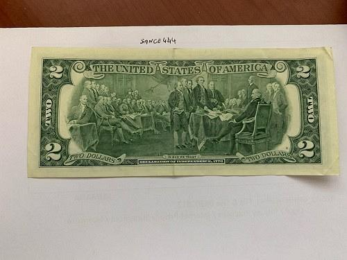 United States Jefferson $2 circulated banknote 2003 #2