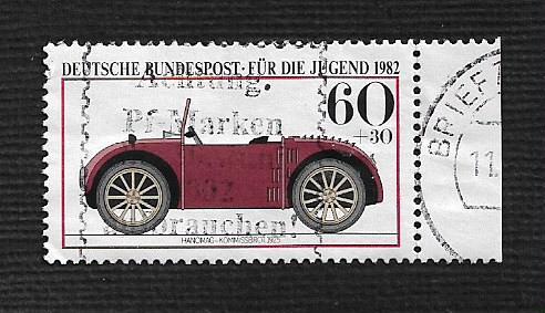 German Used Scott #B606 Catalog Value $.55