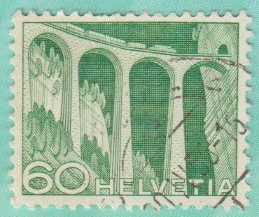 [SW0338] Switzerland: Sc. No. 338 (1949) Used