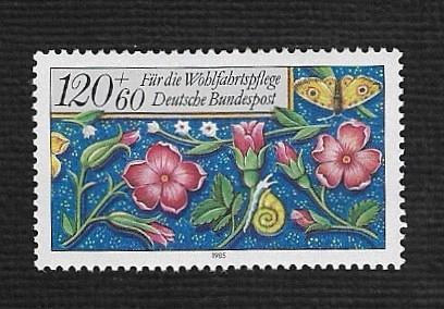 German MNH Scott #639 Catalog Value $1.60