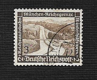 German Used Scott #B93 Catalog Value $.40