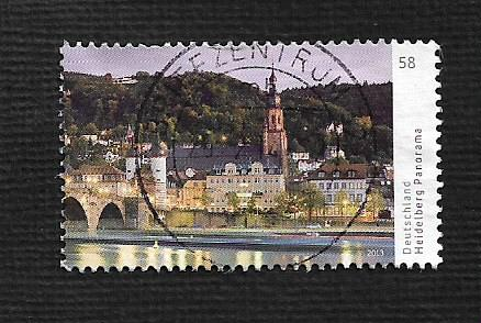 German Used Scott #2749 Catalog Value $.80
