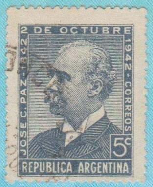 [AR0506] Argentina: Sc. No. 506 (1942) Used Single