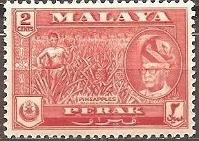 [MAL0128] Malaya (Perak): Sc. no. 128 (1957-1972) MNH