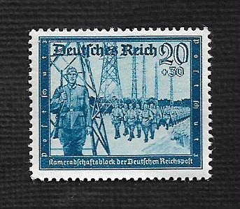 German Hinged Scott #B276 Catalog Value $.25