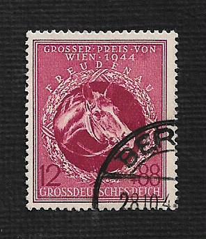 German Used Scott #B285 Catalog Value $1.05