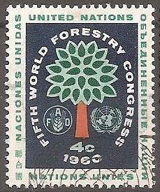 [UN0081] UN NY: Sc. no. 81 (1960) Used