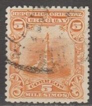 [UR0151] Uruguay: Sc. No. 151 (1900) Used
