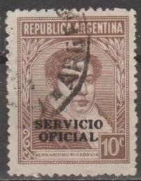 [ARO075] Argentina: Sc. No. O75 (1944-1951) Used