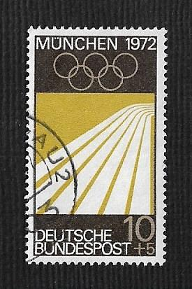 German Used Scott #B446 Catalog Value $.50