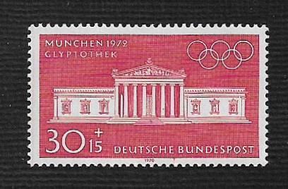 German MNH Scott #B461 Catalog Value $1.00