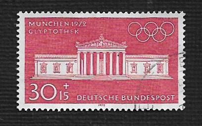 German Used Scott #B461 Catalog Value $1.00