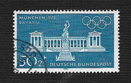 German Used Scott #B462 Catalog Value $1.30