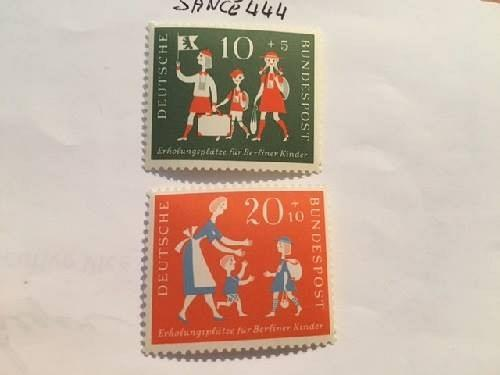 Germany Child welfare 1957 mnh stamps