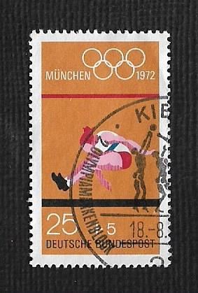 German Used Scott #B490a Catalog Value $.40