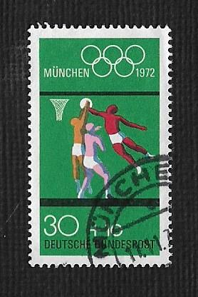 German Used Scott #B490b Catalog Value $1.05