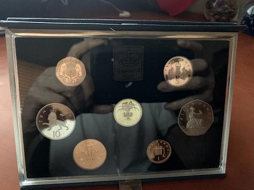 United Kingdom Proof set of coins 1985 #2