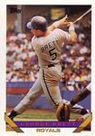 1993-Topps #397-George-Brett