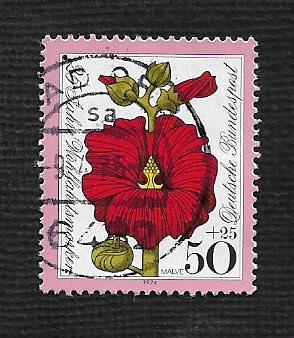 German Used Scott #B514 Catalog Value $.35