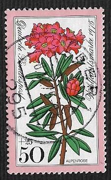 German Used Scott #B523 Catalog Value $.40