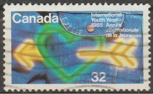 [CA1045] Canada Sc. no. 1045 (1985) Used Single