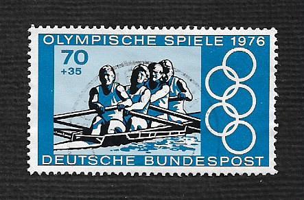 German Used Scott #B532b Catalog Value $1.00