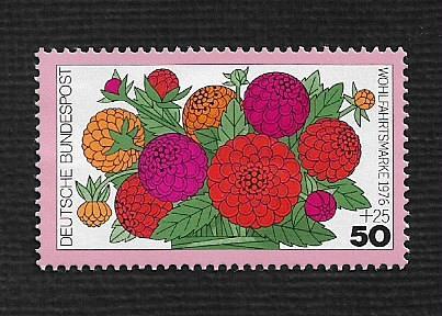 Germany Hinged Scott #B535 Catalog Value $.55