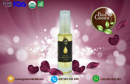 Hair nourishing treatement natural Argan oil in Laura bottles .