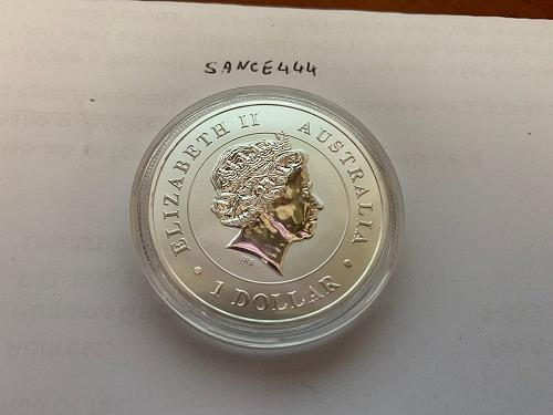 Australia One dollar Webspider uncirc. coin 2015