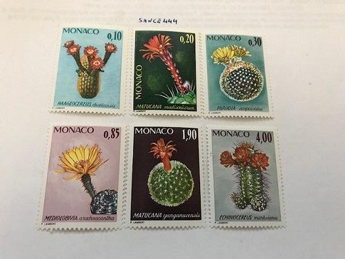 Monaco Botanic garden 1974 mnh stamps