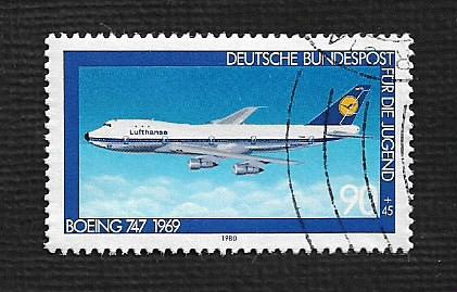 German Used Scott #B561 Catalog Value $1.05
