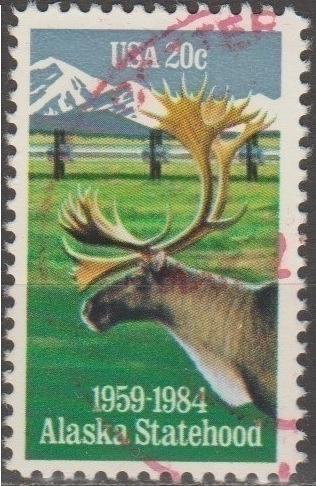 [US2066] United States: Sc. no. 2066 (1968) Used Single