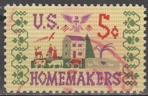 [US1253] United States: Sc. no. 1253 (1964) Used Single