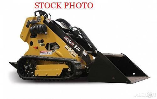 2014 Boxer 320 Mini Skid Steer