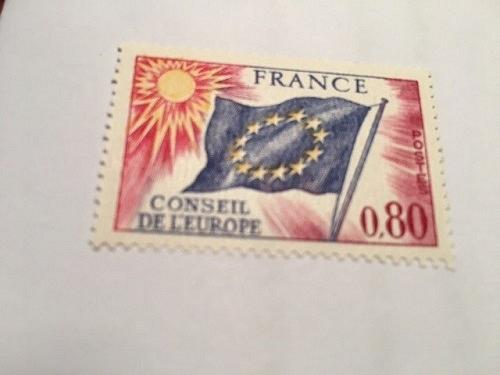 France Conseil de l'Europe 0.80 mnh 1976 stamps