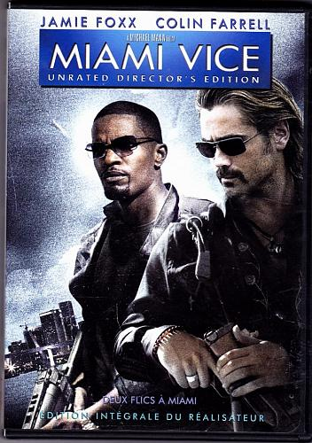 Miami Vice DVD 2006 Unrated - Very Good