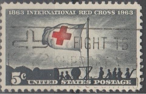 [US1239] United States: Sc. no. 1239 (1963) Used Single