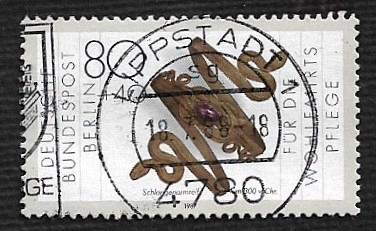 German Berlin Used #9NB252 Catalog Value $1.60