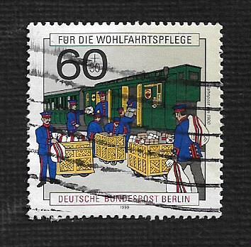 German Berlin Used #9NB283 Catalog Value $1.75