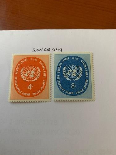 United Nations Definitives 1958 mnh stamps